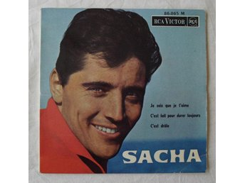 "SACHA DISTEL - ""Oh Rock My Soul"" French-1964 EP"
