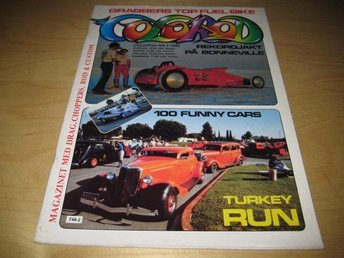 COLOROD NR 2 1982  TURKEY RUN ,BONNEVILLE SPEED WEEK
