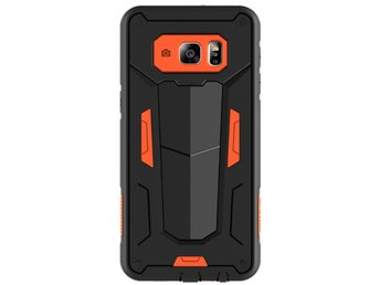 NILLKIN Defender II Series Skal Samsung Galaxy S6 Edge+ - Orange/Svart
