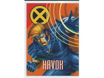 MARVEL X-MEN  SAMLARKORT - HAVOK