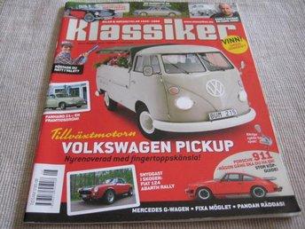 KLASSIKER NR 8 2010. AUSTIN-HEALEY 100 SIX ,FIAT 124 ABARTH, M.M - Uppsala - KLASSIKER NR 8 2010. AUSTIN-HEALEY 100 SIX ,FIAT 124 ABARTH, M.M - Uppsala