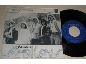 New Seekers 45/PS Beg steal or borrow 1972
