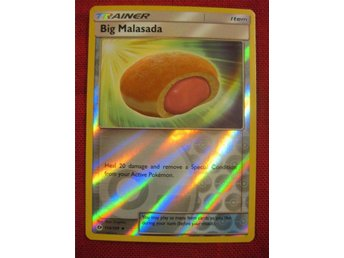 BIG MALASADA - REVERSE HOLO POKEMON TRAINER - SUN & MOON - 114/149 - Hörby - BIG MALASADA - REVERSE HOLO POKEMON TRAINER - SUN & MOON - 114/149 - Hörby