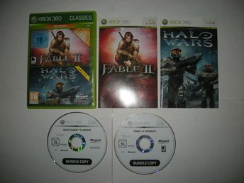 Xbox 360 Fable 2 + Halo Wars