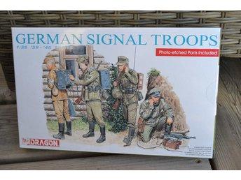 German Signal Troops, Tyska Signalister 1:35 Dragon (4st Figurer) Ny - Vännäs - German Signal Troops, Tyska Signalister 1:35 Dragon (4st Figurer) Ny - Vännäs