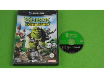 Shrek Extra Large Gamecube Nintendo Game Cube