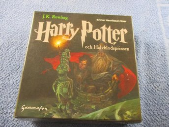 HARRY POTTER OCH & HALVBLODSPRINSEN / 29 CD / LJUDBOK / SV TAL!