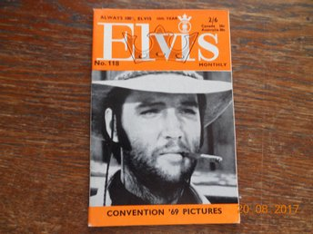 ELVIS Monthly No. 118 - 64 sidor, November 1969