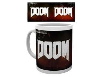 Mugg - Spel - Doom Logo (MG1380)