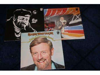 ROGER WHITTAKER.  AN IMAGE TO MY MIND. RIDE A COUNTRY ROAD.  + 1. = 3 LP-SKIVOR