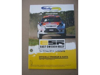 Rally Program SM East Sweden Rally 14-15/9 2012