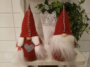 Tomte Mor & FAR 20cm FRI FRAKT !!