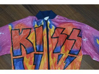 Kiss Paul Stanley Gene Simmons Tyvek Jacket Aucoin 1978