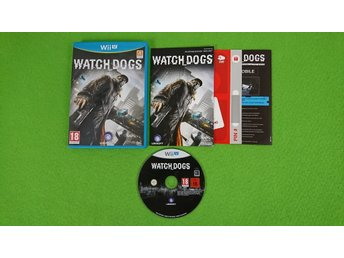 Watch Dogs Nintendo Wii U Nintendo WiiU watchdogs