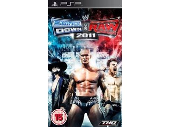 WWE Smackdown Vs Raw 2011 - Playstation PSP