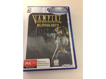 Vampire the masquerade bloodlines. 4 disc