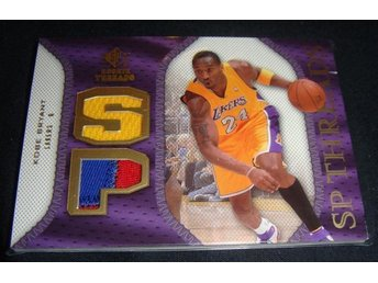 Kobe Bryant La Lakers NBA - Game-Used Jersey Card Rookie, Samlarkort, Samlarbild