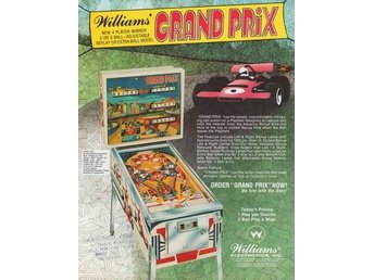 Original flyer Williams GRAND PRIX