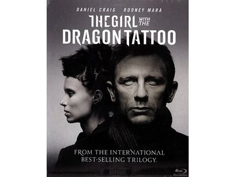 Girl with the dragon tattoo / Ny inplast Blue-Ray / JULKLAPP