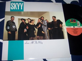 "SKYY - LOVE ALL THE WAY 12"" 1989 USA REMIX"