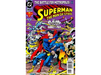 Superman the man of steel #34 1994 VF