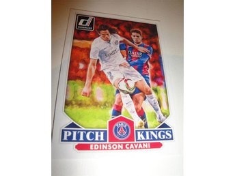 Panini Donruss Soccer 2015 - Pitch Kings - EDISON CAVANI - Paris Saint-Germain