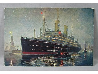 Swedish American Line T.M.S. Kungsholm i New York