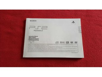 BASENHET MANUAL till Sony Playstation 2 PS2 Slim