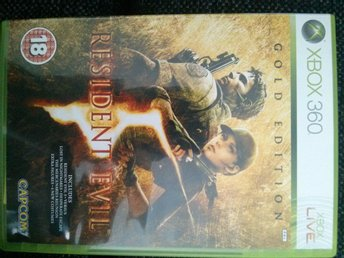 Xbox 360 resident evil Gold edition spel