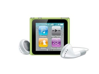 Apple iPod Nano, 6:e generationen, grön
