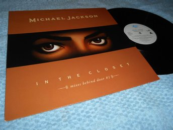 Michael Jackson - In The Closet (12a) mixar NM/EX