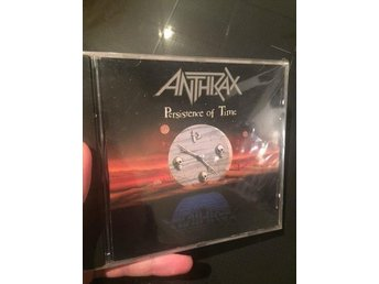Anthrax - Persistence Of Time METAL CD