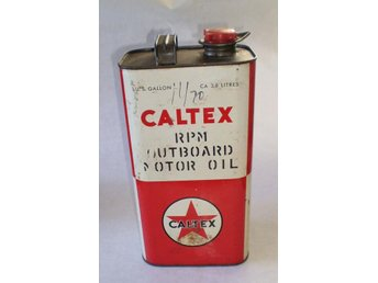 Caltex Outboard Motoroil 3,8 liter