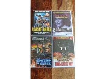 Blast Fighter/Thundercrack/Hands Of Steel/Wild Beasts DVD - Vålberg - Blast Fighter/Thundercrack/Hands Of Steel/Wild Beasts DVD - Vålberg