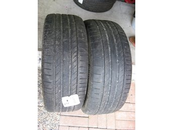 2 st Begagnade Continental Sport Contact 5 SSR 255/55R18 109W XL .