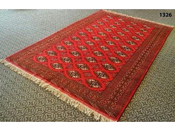 STOR BOKHARA RED mattor antique mattor Oriental mattor  290cm ×198cm 11.6 ft 8.7