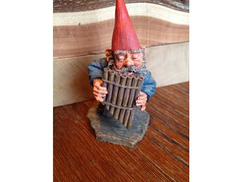 Gnomes Rien Poortvliet original, made in Holland.Trolltyg i tomteskogen. Andreas