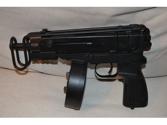 """Scorpion"" R2 (WELL) Submachinegun Metall (Eldriven) SMG Pistol Airsoft Ny"