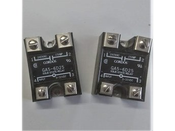 2 ST SOLID STATA RELAYS GS5-6D25