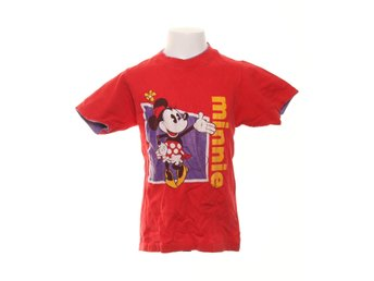 The Disney Store, T-shirt, Strl: 140-150, Röd