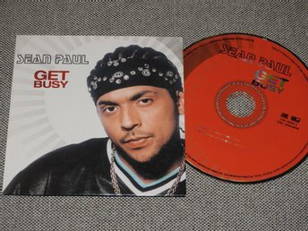 Sean Paul - Get Busy CD Singel (pappfodral)
