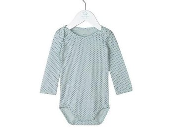 Boy Basic Striped Body Cloud Blue - 6M (Rek pris: 199kr)