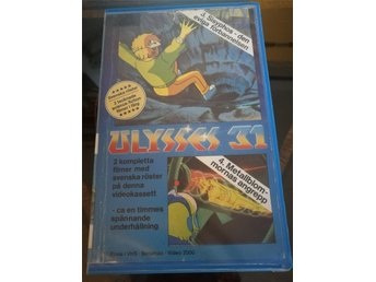 Ulysses 31, vhs, nostalgi, tecknad science fiction, Videobiblioteket 1981.