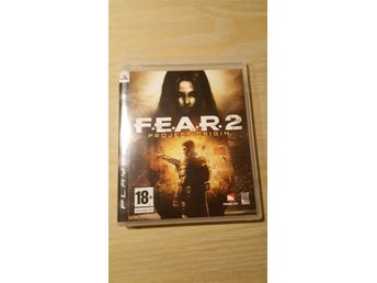 FEAR 2 PS3 nyskick