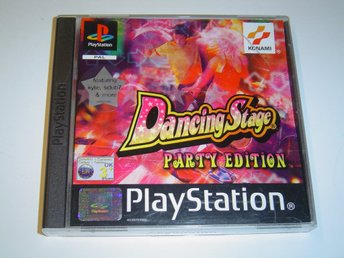 DANCING STAGE PARTY EDITION TILL SONY PLAYSTATION *NYTT*