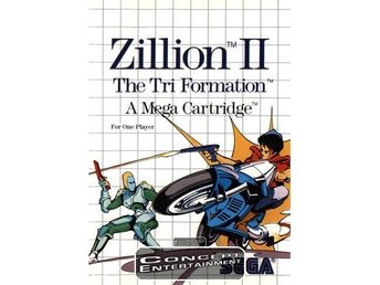 ZILLION 2 II - THE TRI FORMATION (i box) till Sega Master System