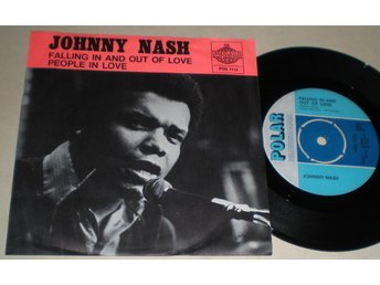 Johnny Nash 45/PS Falling in and out of love 1970