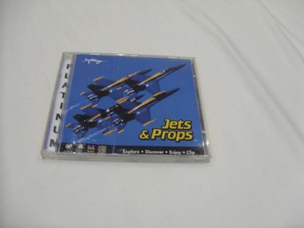 Jets & Props Multimedia CD ROM PC DOS Windows Macintosh Mac
