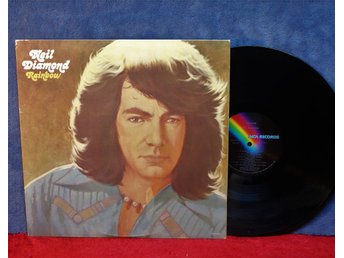 NEIL DIAMOND   RAINBOW   FIN   LP   VINYL   MCA 1973