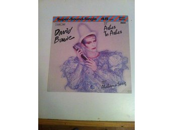 "DAVID BOWIE ""ASHES TO ASHES"" - MAXI SINGLE"